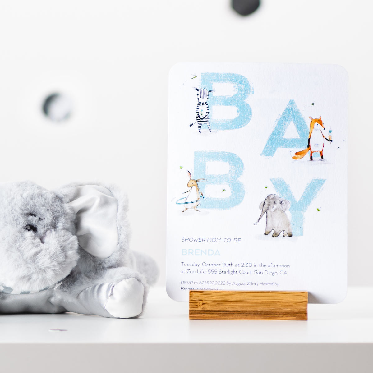 Enchanting Elephant Baby Shower Ideas