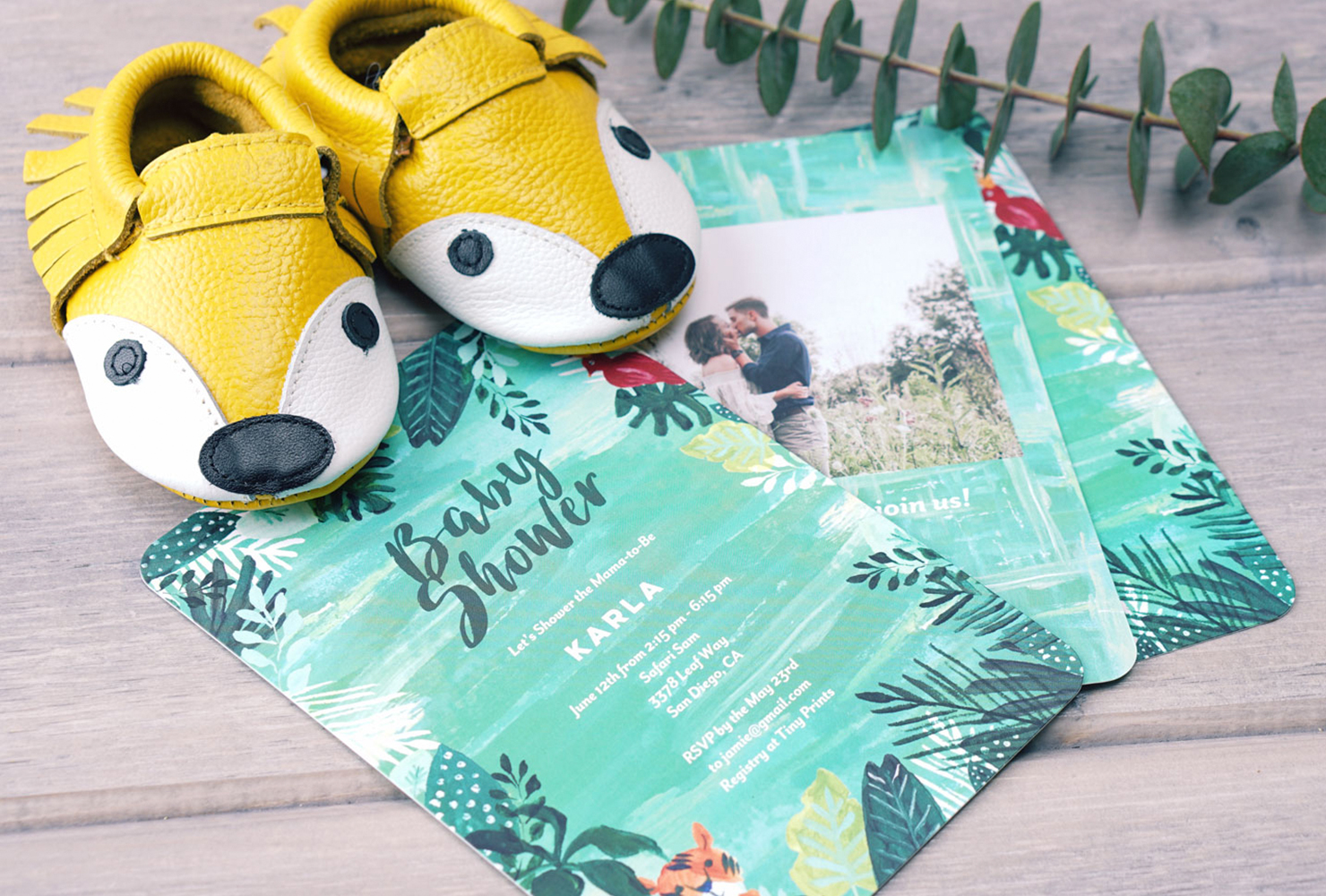 jungle themed baby shower invitations with baby shower messages