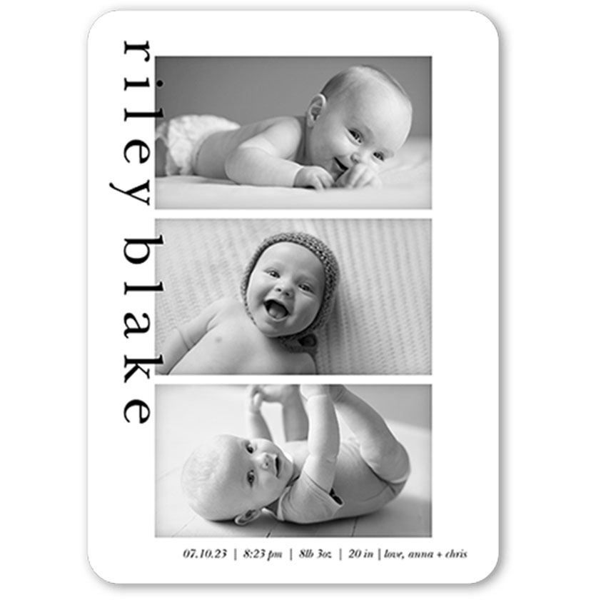 6 Unique Birth Announcements for Your Baby